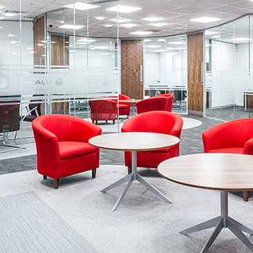How a breakout area can lead to increased productivity in the office