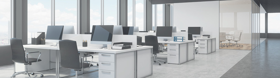 Efficient light and spacious office